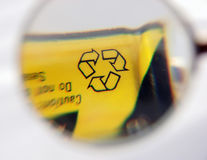 Recycle battery Royalty Free Stock Photography
