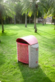 Recycle bin. In the park Stock Photography
