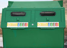 Recycle bin. Royalty Free Stock Photos
