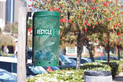 Recycle bin Royalty Free Stock Images