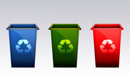 Recycle bin Stock Photo