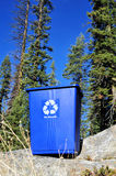 Recycle Bin And Clean Environment. A recycle can and the concept of a clean environment Royalty Free Stock Images
