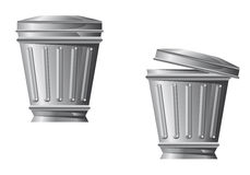 Recycle bin icon Royalty Free Stock Image