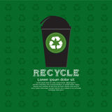 Recycle Bin. Royalty Free Stock Images