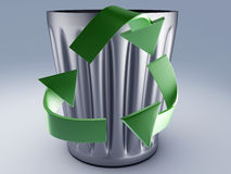Recycle bin Stock Images