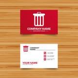 Recycle bin sign icon. Bin symbol. Royalty Free Stock Image