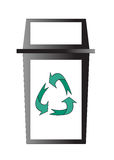 Recycle bin. Stock Images