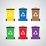 Recycle bin Royalty Free Stock Photography