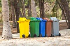 Recycle Bins Stock Image