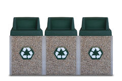 Recycle Bins Stock Photography