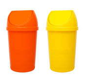 Recycle Bins Isolated Stock Images