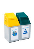 Recycle Bins Stock Images