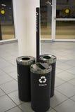 Recycle bins p2 Stock Photo