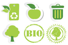 Recycle And Bio Royalty Free Stock Images