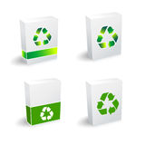 Recycle boxes Royalty Free Stock Image