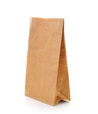Recycle brown paper bag Royalty Free Stock Image