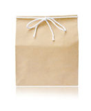 Recycle brown paper bag Stock Photo