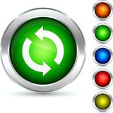 Recycle button. Stock Photography