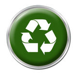 Recycle Button Stock Images