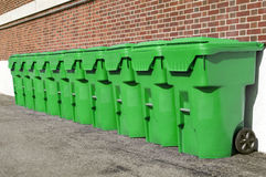 Recycle Cans Royalty Free Stock Photography