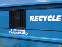 Recycle cardboard Stock Photos