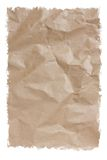 Recycle Cardboard Texture Paper isolated on white Royalty Free Stock Photo