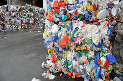 Recycle Center Stock Images