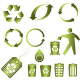 Recycle for clean environment Stock Images