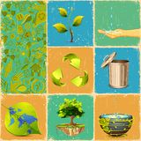 Recycle Collage Stock Photos