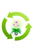 Recycle concept Royalty Free Stock Photos
