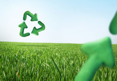 Recycle concept royalty free stock image