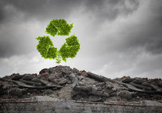 Recycle concept Royalty Free Stock Photo