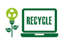 Recycle concept  design Stock Photography