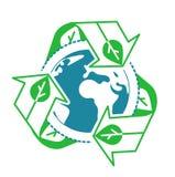 Recycle concept environment Stock Photos