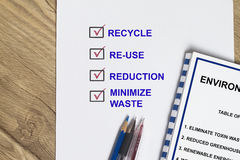 Recycle and conservation Stock Photography