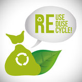 Recycle design Royalty Free Stock Image