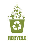 Recycle design Stock Image