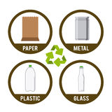 Recycle design Stock Images