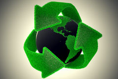 Recycle Earth. Stock Image