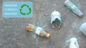 Recycle for earth stock photography