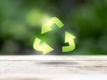 Recycle ecology concept Royalty Free Stock Photography