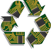 Recycle Electronics Royalty Free Stock Photos