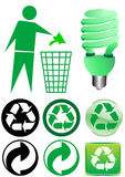Recycle elements Royalty Free Stock Image
