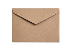 Recycle Envelope isolate is on white background Stock Image