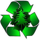 Recycle for the environment Royalty Free Stock Images