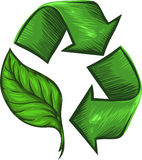 Recycle for the Environment Royalty Free Stock Image
