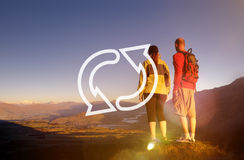 Recycle Environmental Conservation Cycle Symbol Concept Stock Images