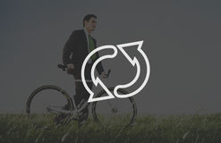 Recycle Environmental Conservation Cycle Symbol Concept Stock Image