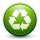 Recycle environmental logo Royalty Free Stock Photography