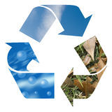 Recycle envorimental Royalty Free Stock Image